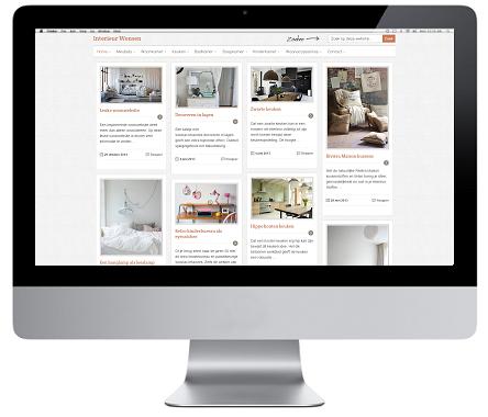 WordPress website laten maken Interieur wensen